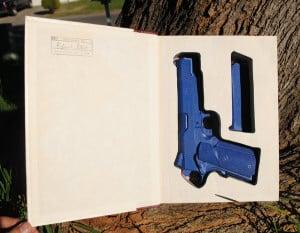 Book Gun Safe for 1911 Government