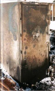 Gun Safe after Home Fire