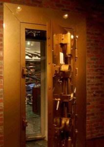 Charlton Heston's Gun Vault Door