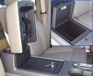 Console Vault Console Car Gun Safe