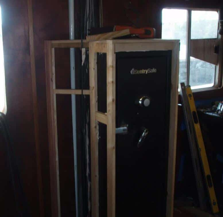 Build A Closet Around Your Gun Safe