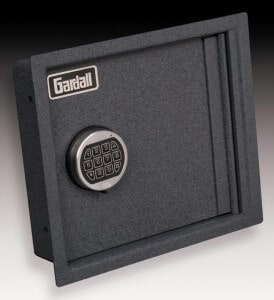 Electronic Keypad Wall Safe (Gardall SL4000)