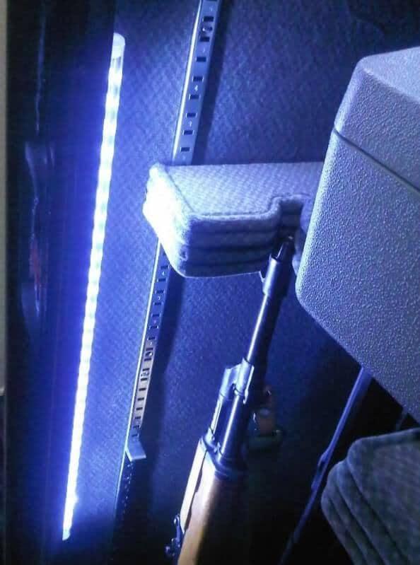 LED Lights In Gun Safe