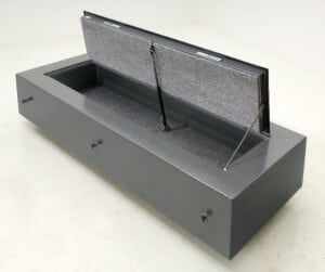 Poured In Concrete Floor Gun Safe