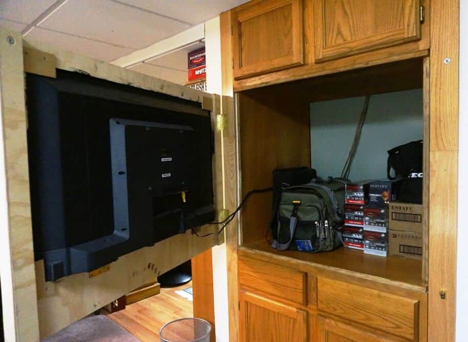 how to build a false wall in a closet
