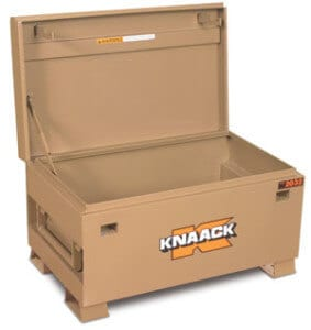 Cheap Gun Safe Alternative:  Job Box Toolbox