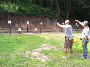 Steel Pistol Shoot