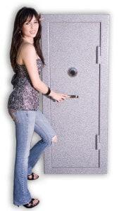 Sturdy 2419 Gun Safe with Alyssa