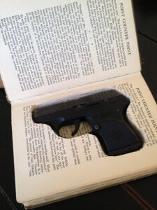Book Gun Safe for Ruger LCR