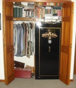 Where to Put a Gun Safe, Gun Safe in Closet