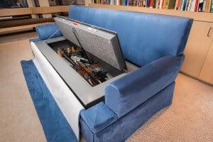 Heracles CouchBunker Hidden Gun Safe