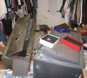 Gun Safe Burglary