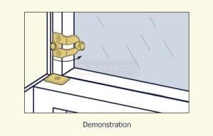 Swisco 20-013 Window Ventilation Lock