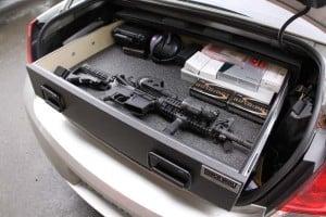 TruckVault TrunkVault Trunk Gun Safe