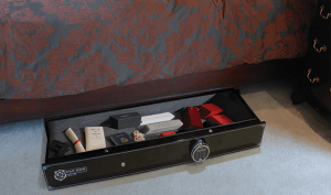 Wardog Under-Bed Gun Safe, Bedside Gun Safe